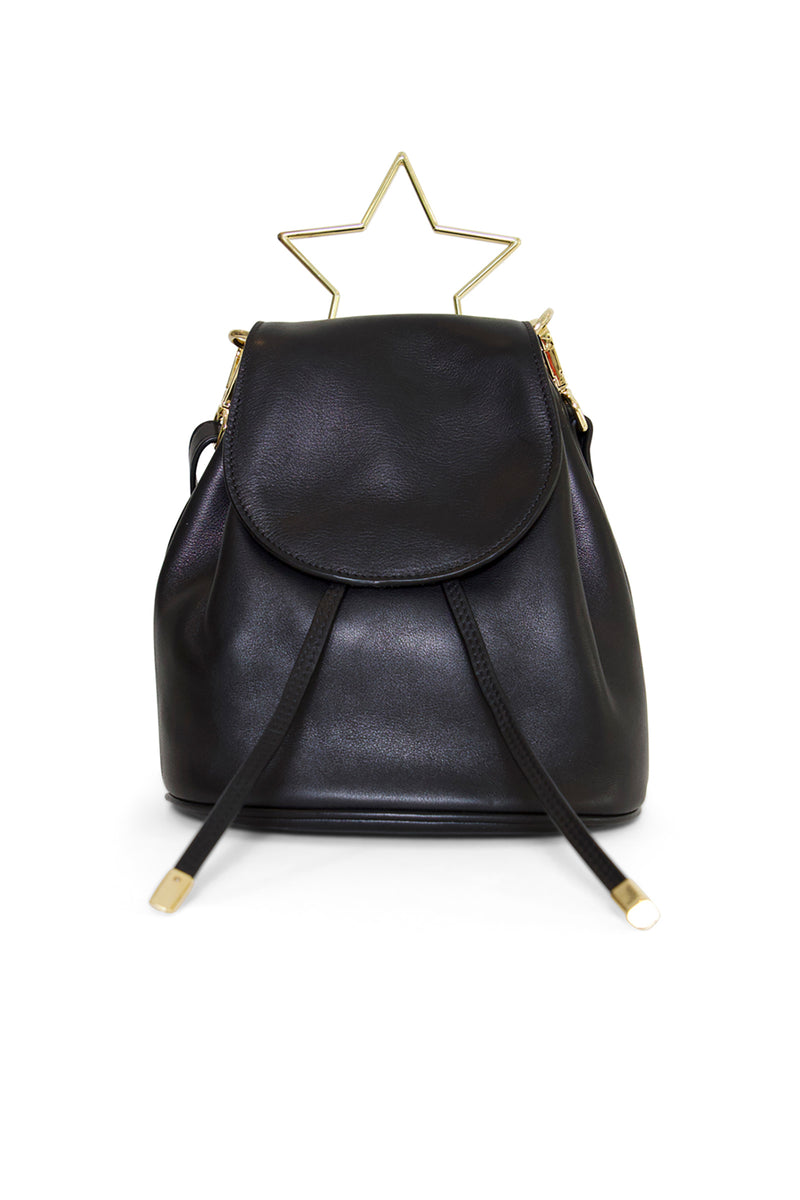 Star Shaped Leather Bag