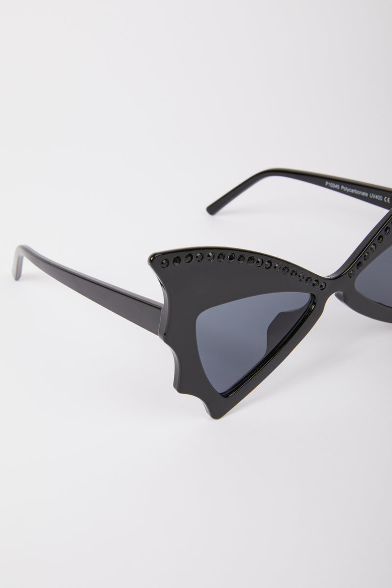 Triangle Frame Sunglasses