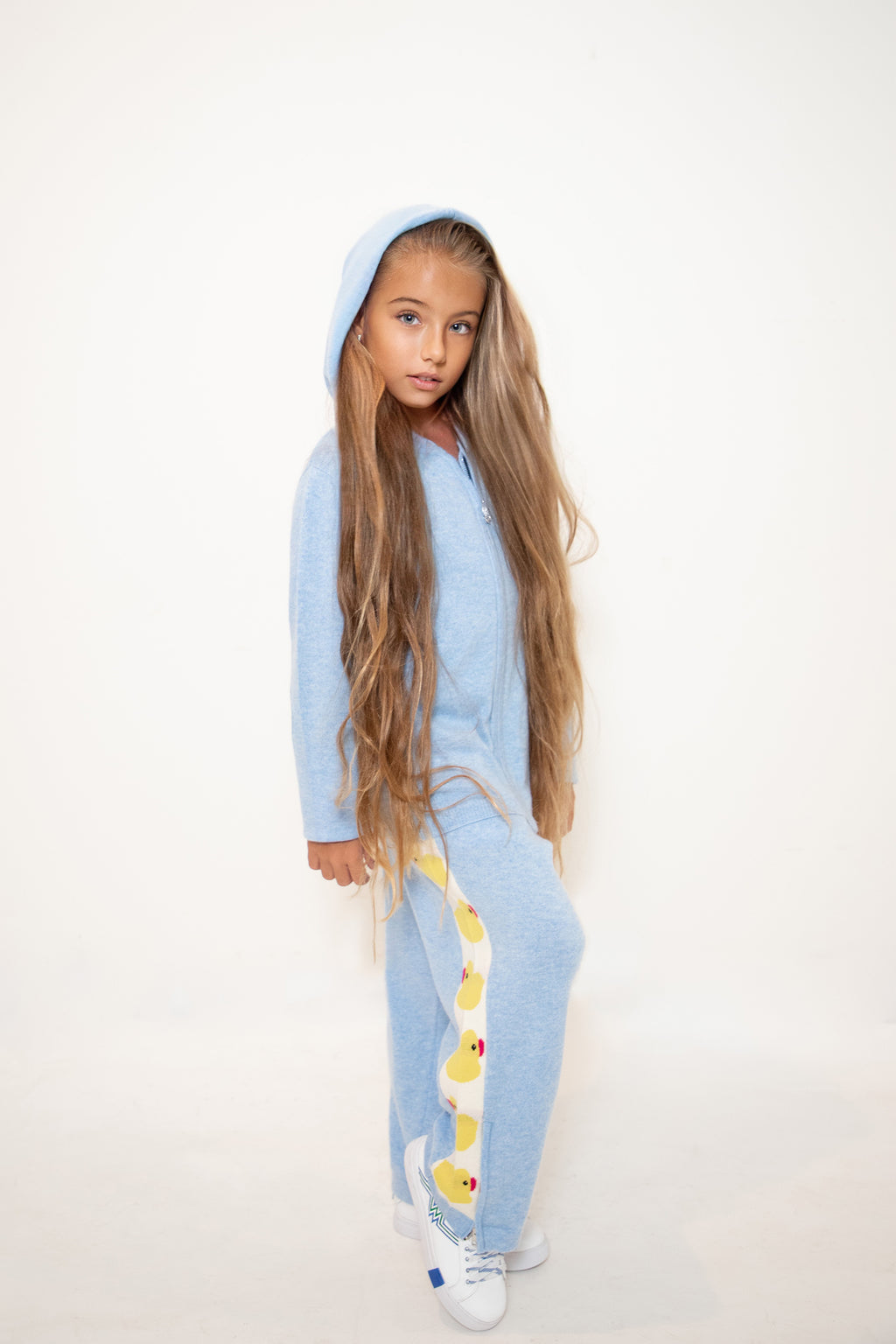 Kids Duck Cashmere Track Pants