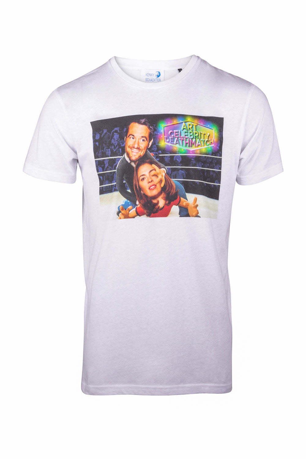 Kenny Schachter 'Celebrity Deathmatch' Graphic T-Shirt