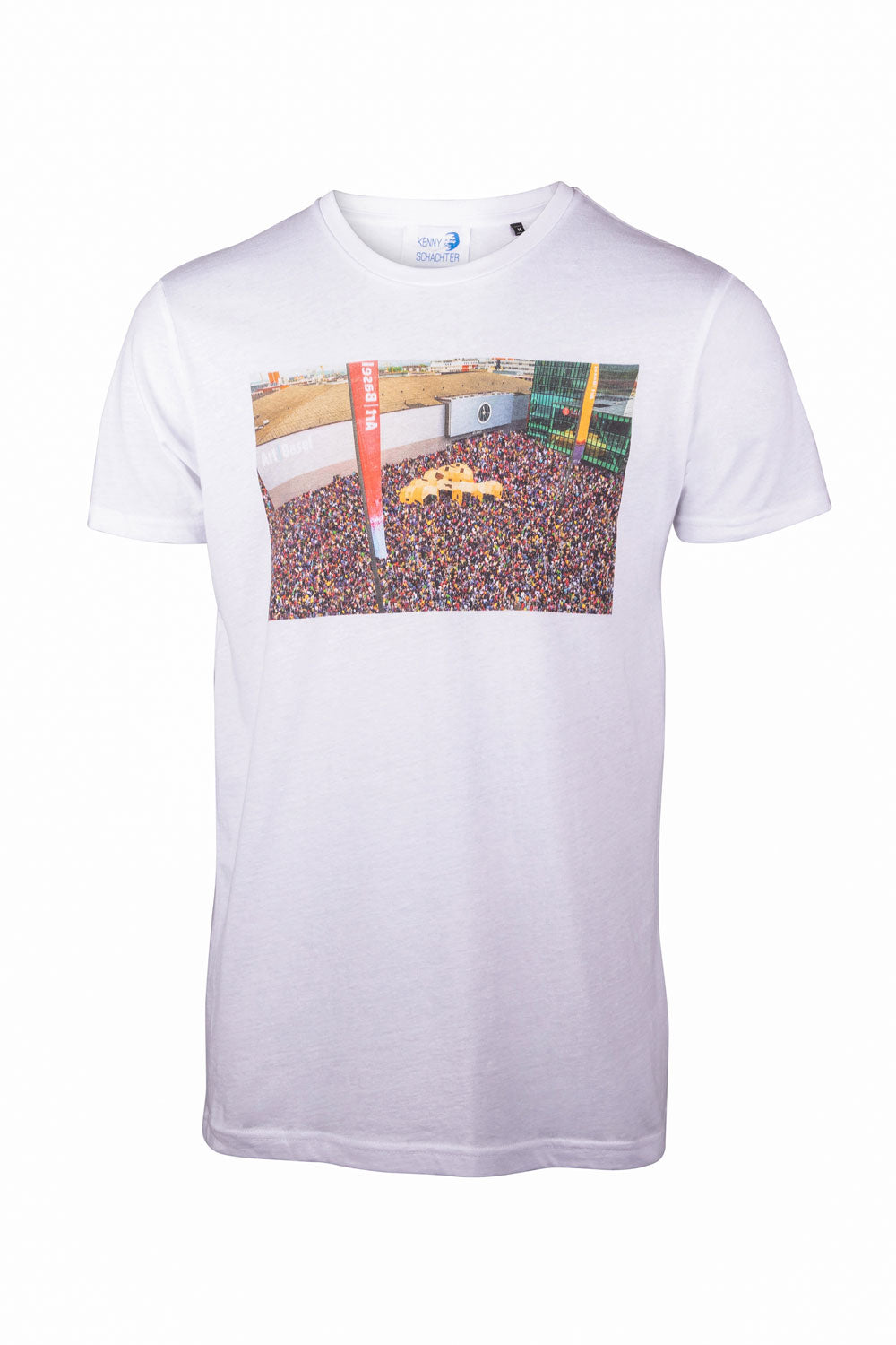 Kenny Schachter 'Basel Hajj' Graphic T-Shirt