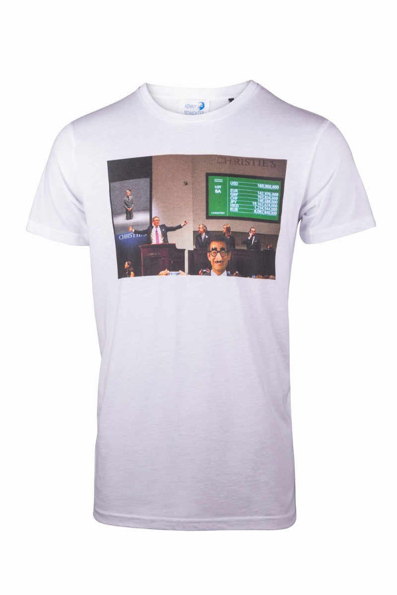 Kenny Schachter 'Christie's Disguised' Graphic T-Shirt