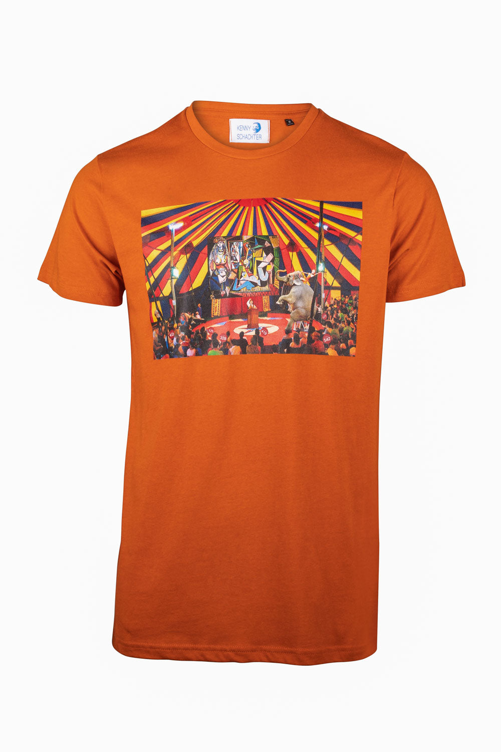 Kenny Schachter 'Picasso Circus' Graphic T-Shirt