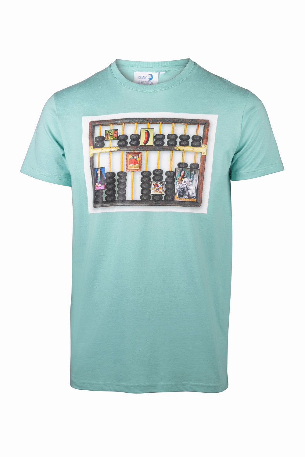 Kenny Schachter 'Abacus' Graphic T-Shirt