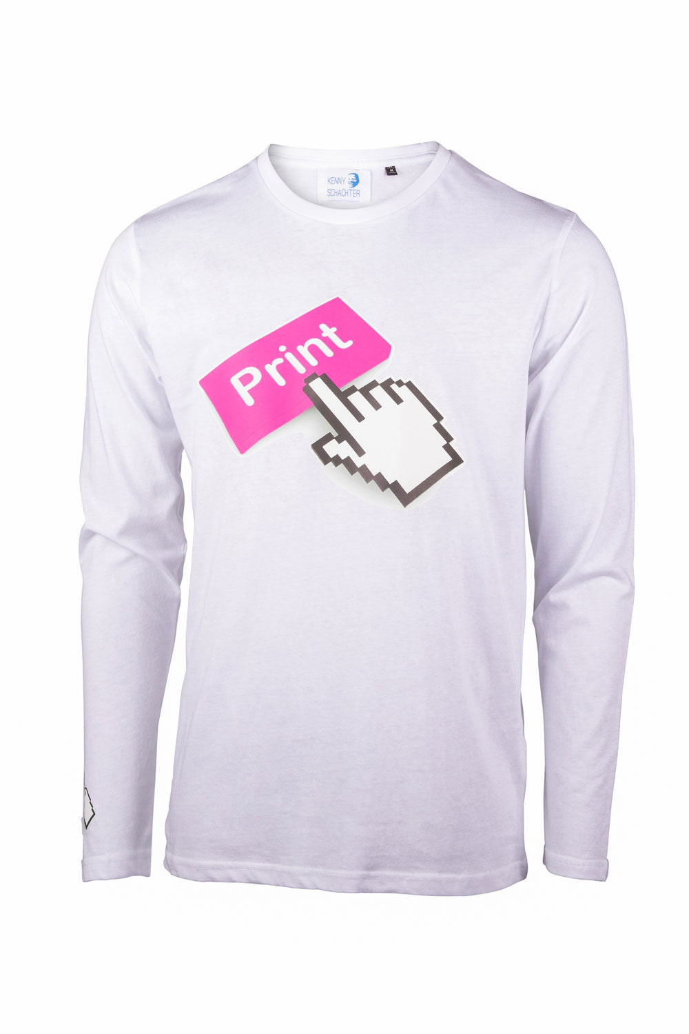 Kenny Schachter 'Print' Long Sleeve Top
