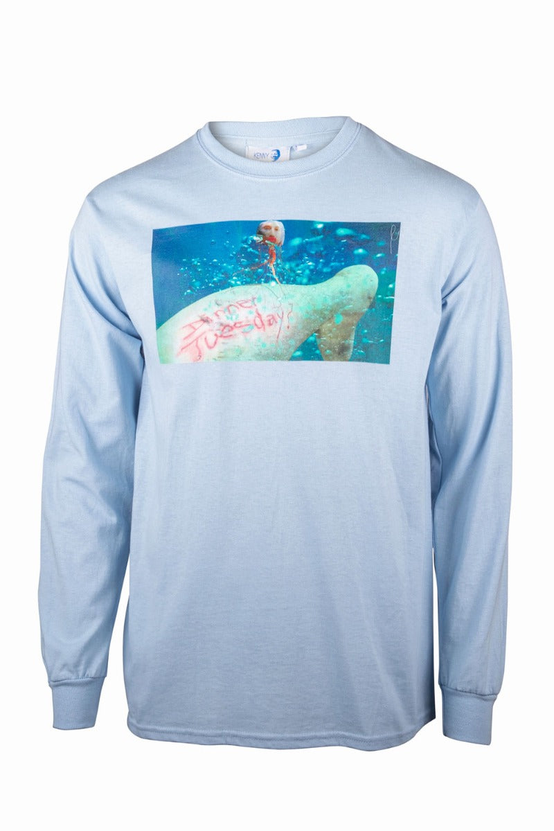 Kenny Schachter 'Dinner Tuesday' Long Sleeve Top