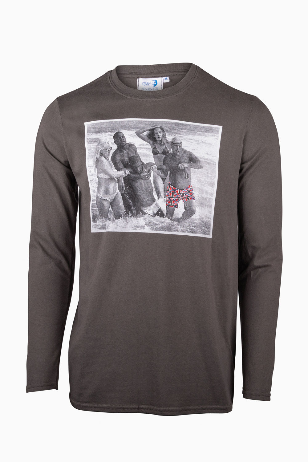 Kenny Schachter 'Christ After Hurricane' Long Sleeve Top