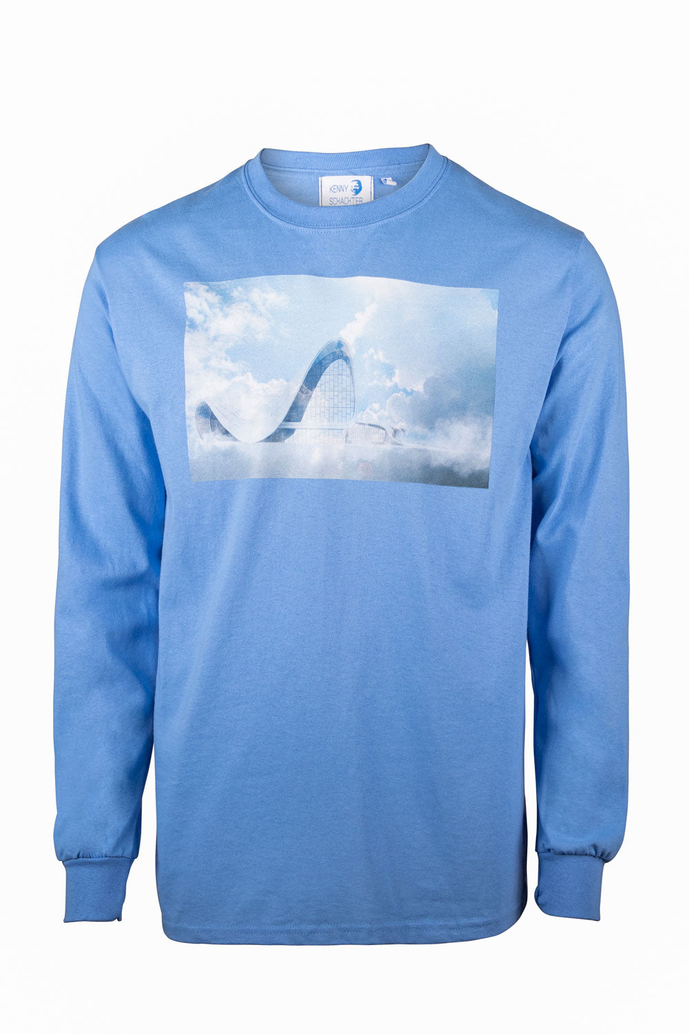 Kenny Schachter 'Zaha Clouds' Long Sleeve Top
