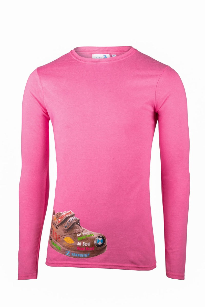 Kenny Schachter 'Art Basel Shoe' Long Sleeve Top