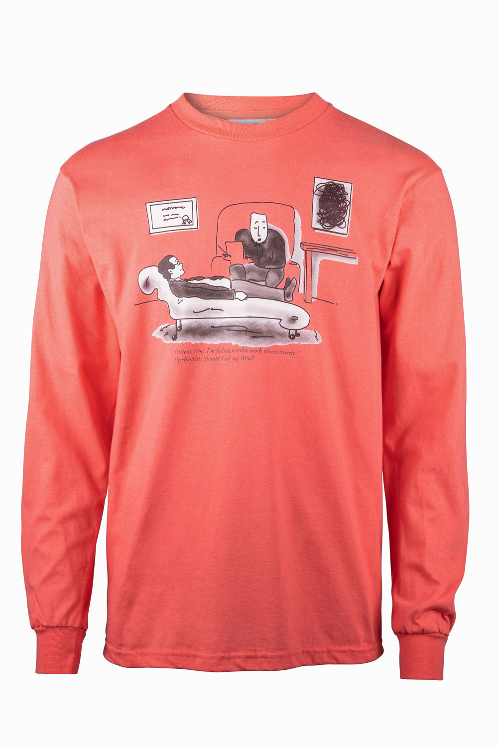 Kenny Schachter 'Shall I Sell' Long Sleeve Top