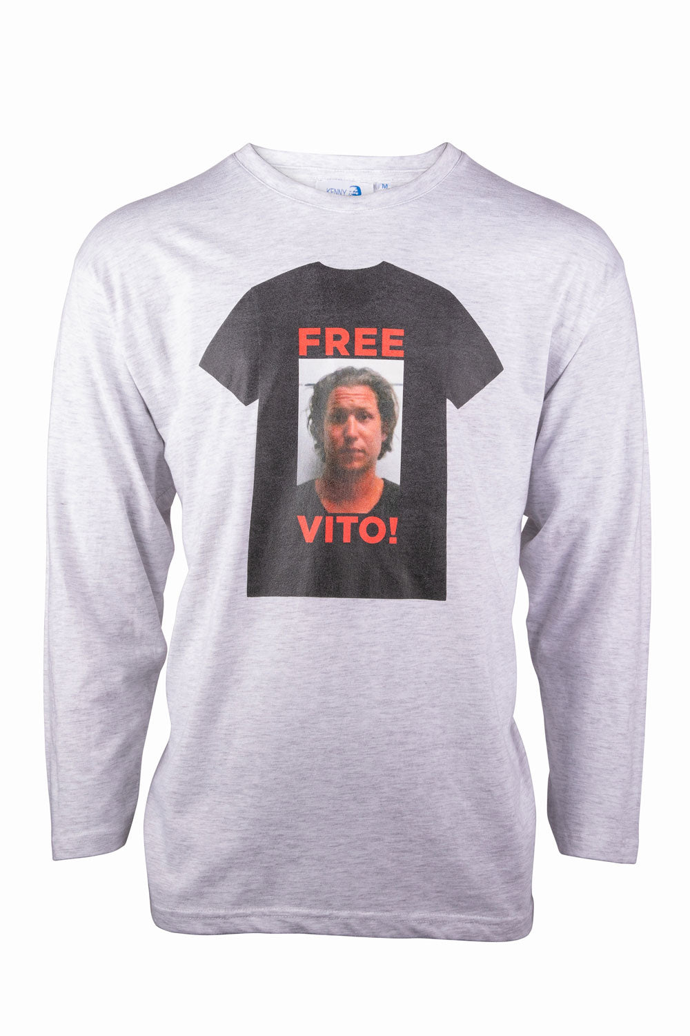Kenny Schachter 'Free Vito' Long Sleeve Top