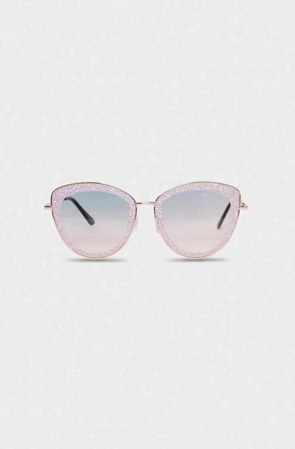Shiny Light Pink Glasses
