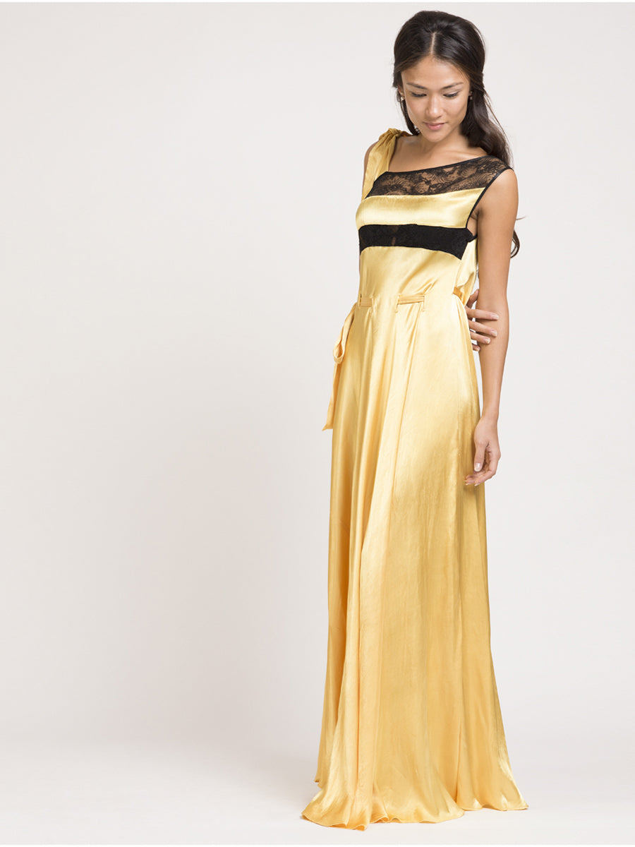 Lagerfelt Vintage Yellow Gown