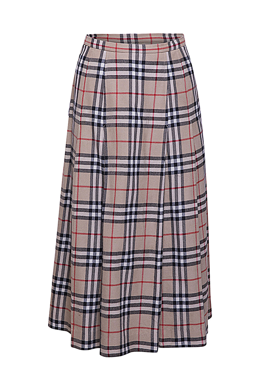 Vintage Burberry Midi Skirt