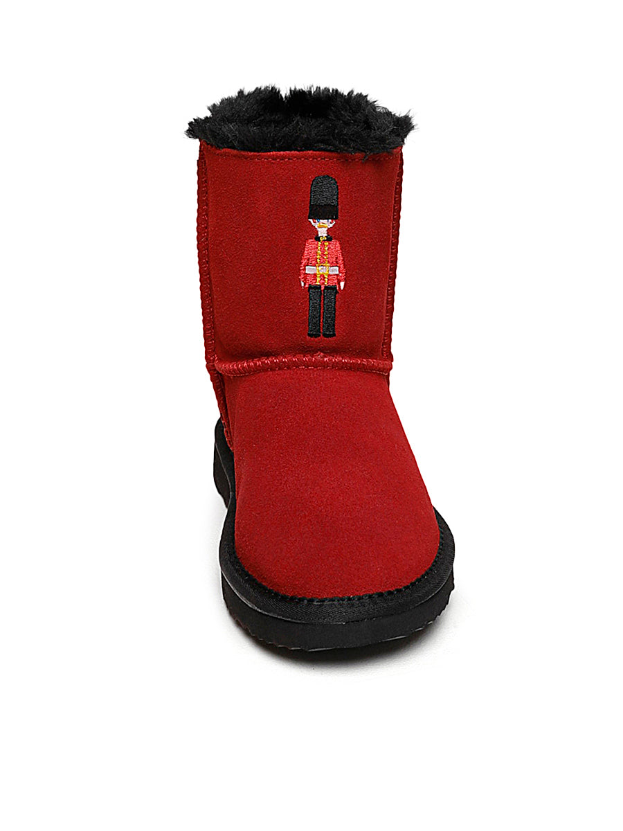Kids Red Guard Winter Boots