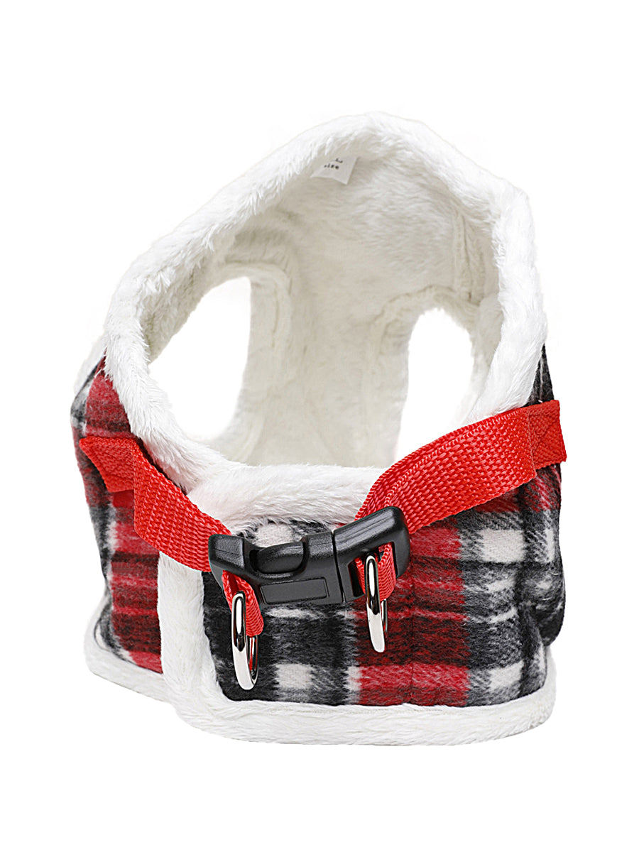 Wooly Pup Leash and Coat Harness