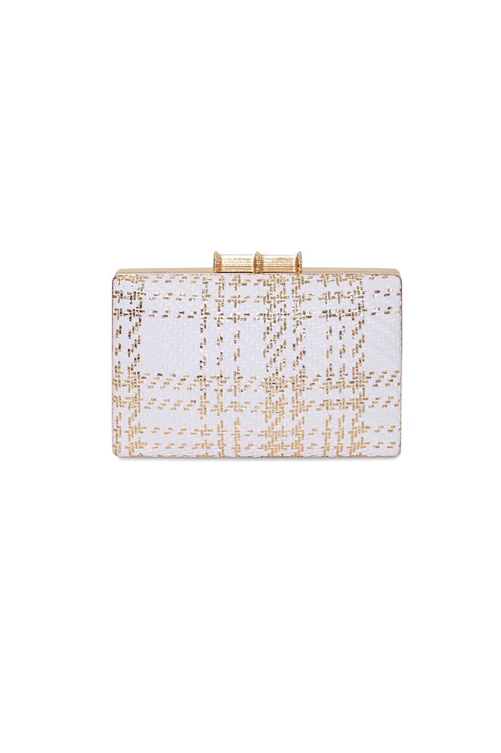 Braided Faux Clutch
