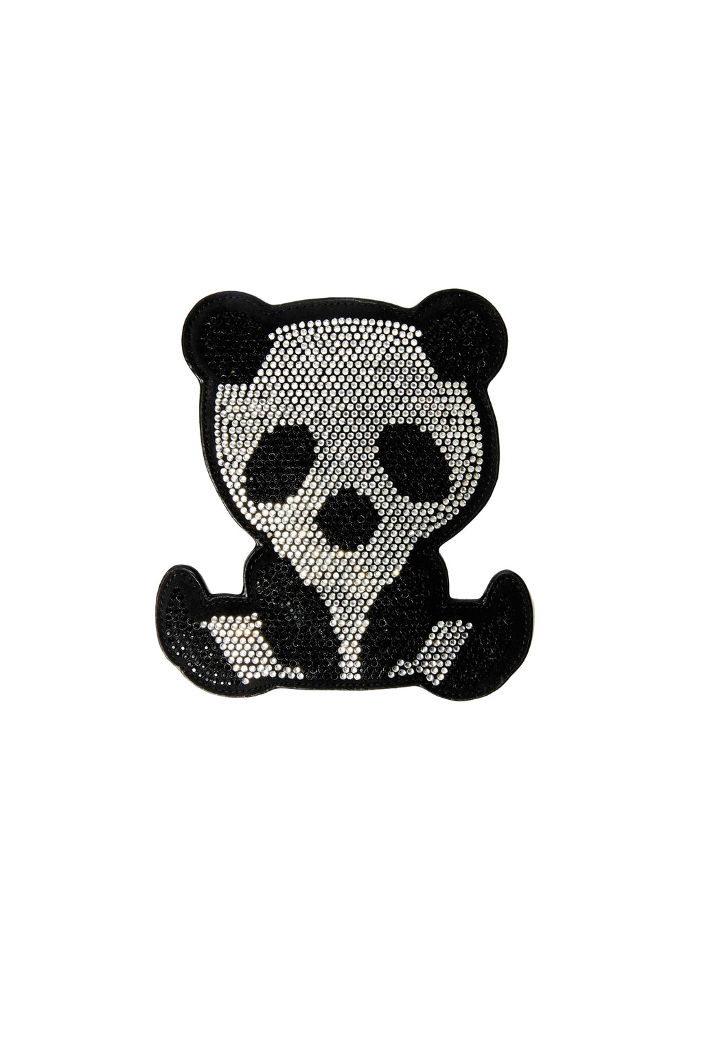 Detachable Crystal Panda Wallet for Satchel Bags