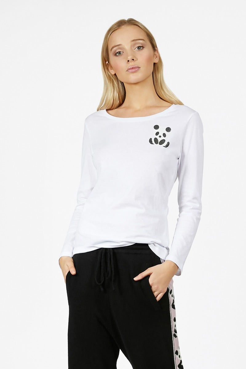Panda Essential Long Sleeve Tshirt