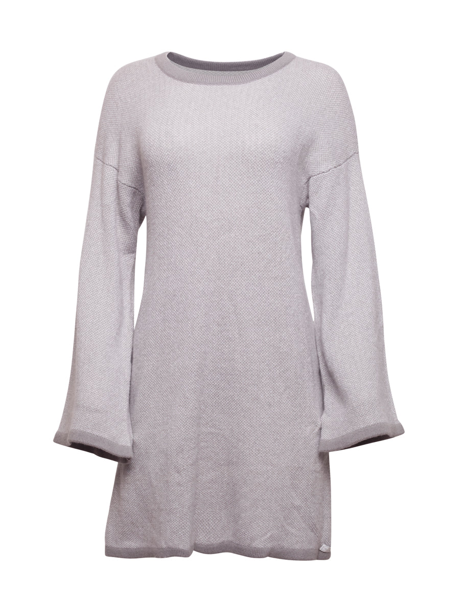 Light Grey Cashmere Jumper Dress
