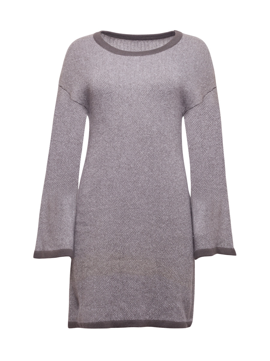 Dark Grey Cashmere Jumper Dress