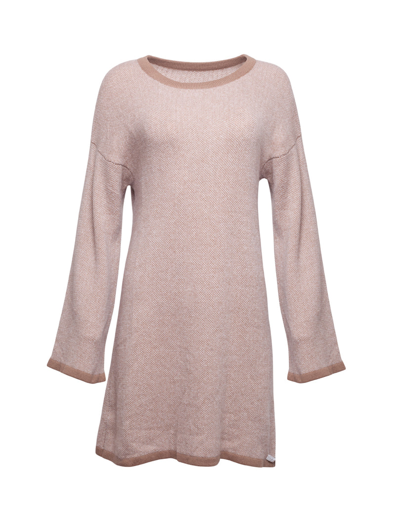 Camel Colour Cashmere Jumper Dress
