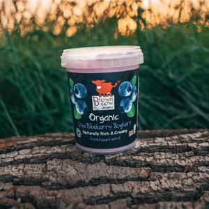 Brown Cow Organics Blueberry
