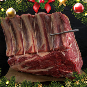 Organic Beef Rib on the Bone - Christmas Special