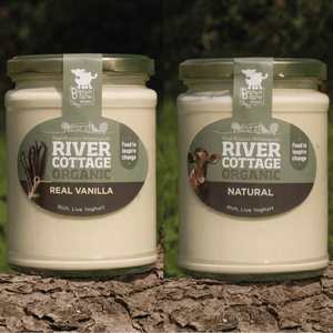 River Cottage Natural and Vanilla Yoghurt Pack