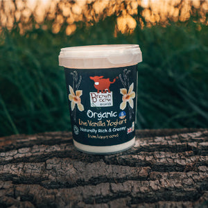 Brown Cow Organics Vanilla Yoghurt
