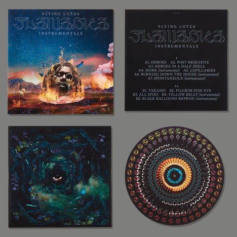 Flying Lotus - Flamagra Instrumentals (Limited Edition 2LP, Download Code, Animated Labels & Custom Zoetrope Slipmat)
