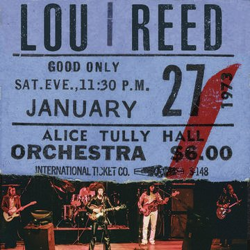 Lou Reed - Live At Alice Tully Hall - Jan 27th 1973 (2nd show) (2LP)