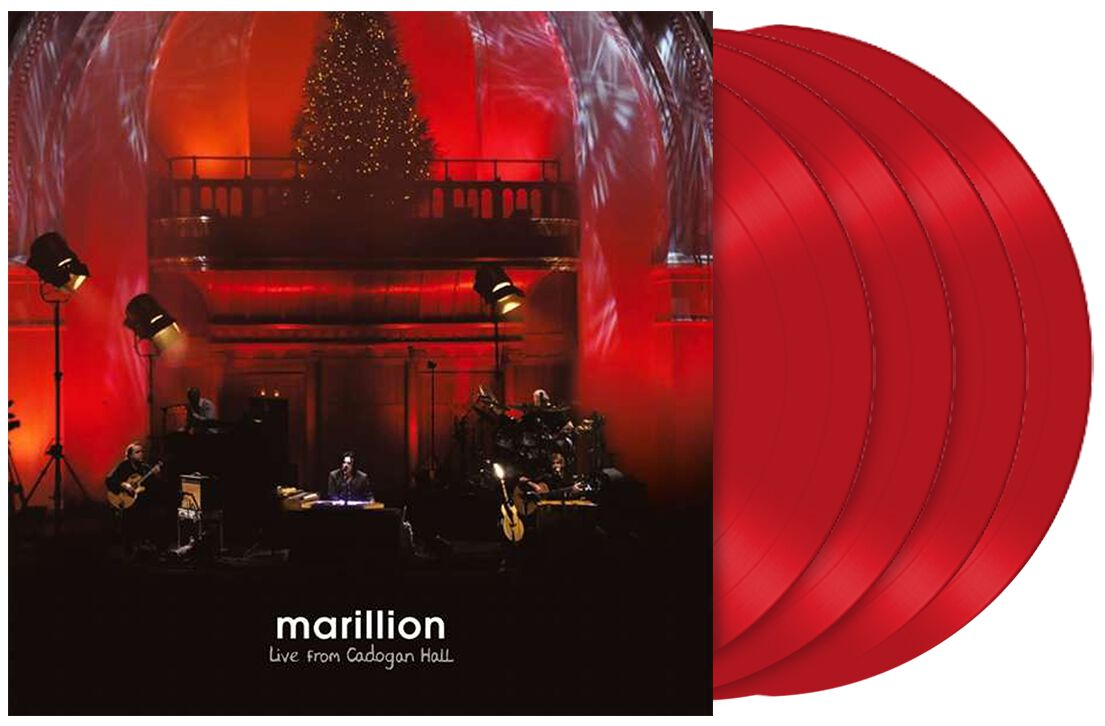 Marillion - Live From Cadogan Hall (4LP Ltd. & Numbered Transparent Red Vinyl Edition)
