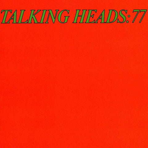 Talking Heads - 77 (Rocktober 2020 - Limited Edition Green Vinyl)
