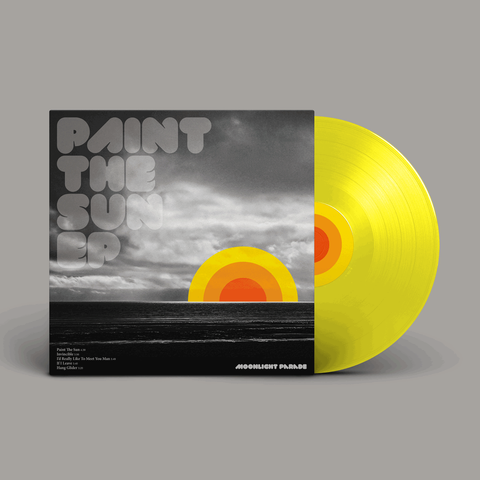 "Moonlight Parade - Paint The Sun EP (10"" Yellow Vinyl)"