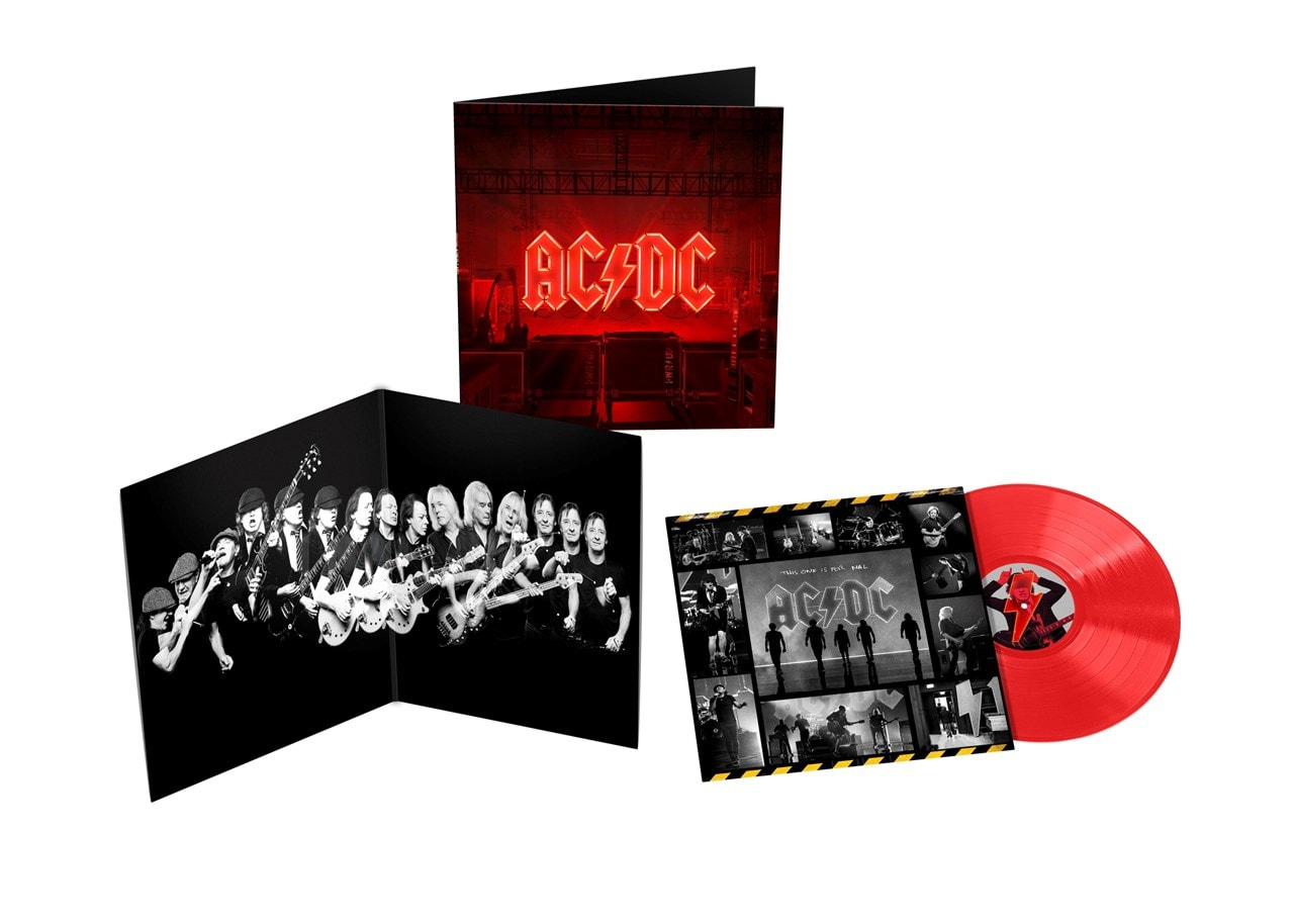 AC/DC - Power Up (Opaque Red Vinyl) (ACDC)