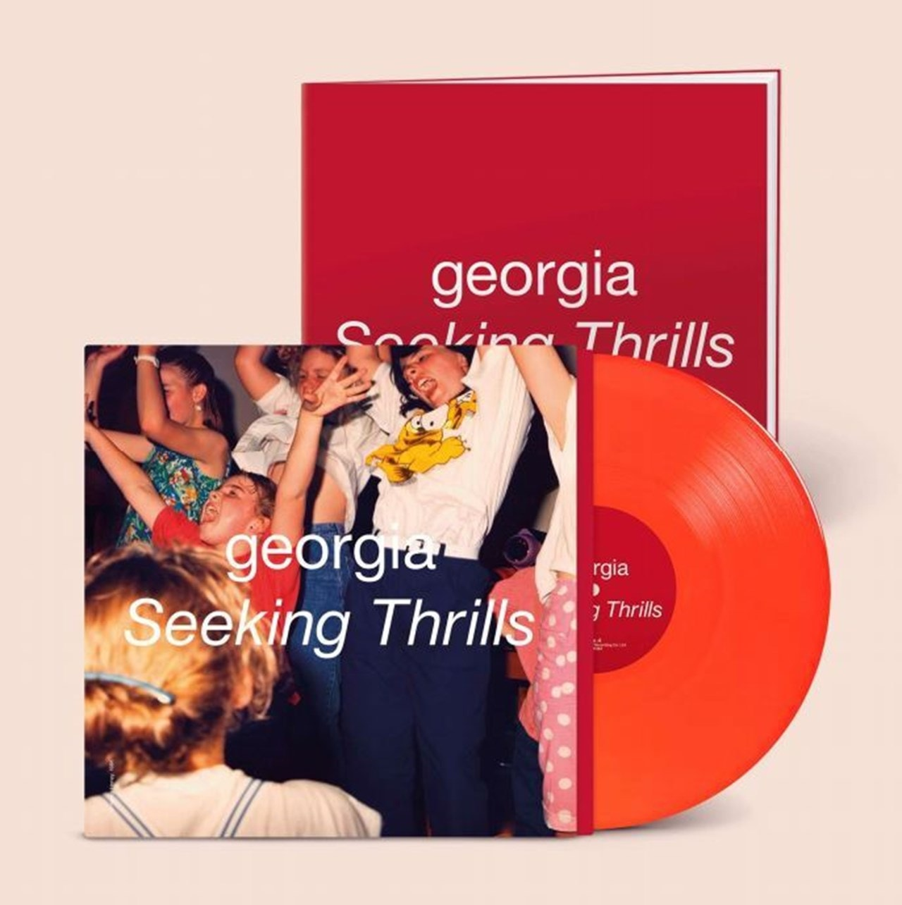 Georgia - Seeking Thrills (Limited Neon Orange Vinyl)