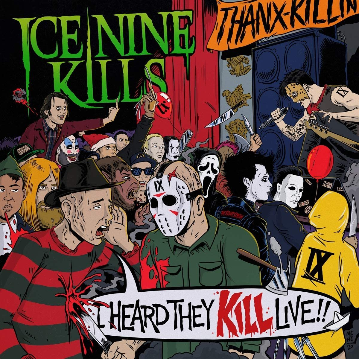 Ice Nine Kills - I Heard They Kill Live!! (2LP)