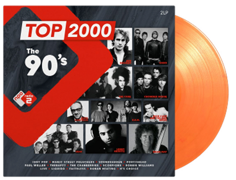Various Artists / Top 2000 - The 90s Radio 2 (2LP Coloured)