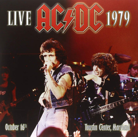AC/DC - Live At Towson Center 1979