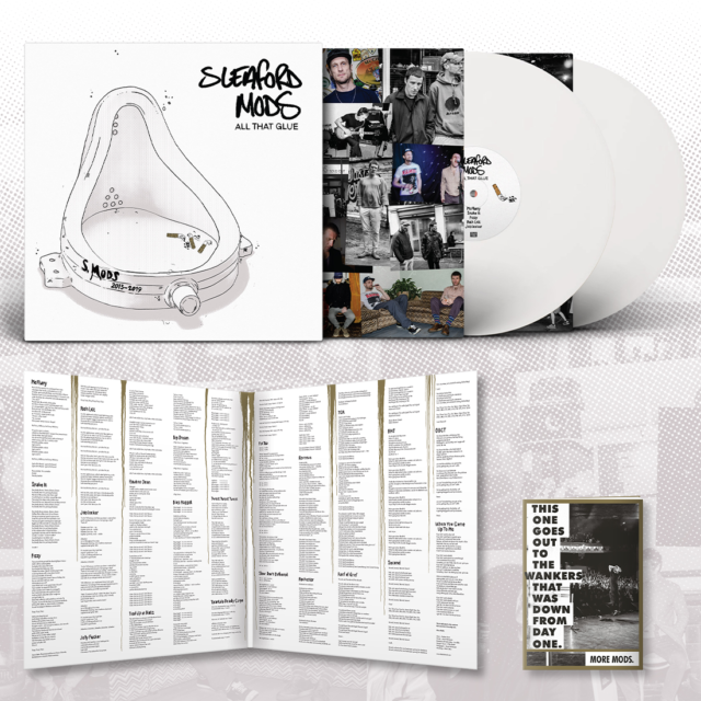 Sleaford Mods - All That Glue (White Vinyl - Indie Exclusive)