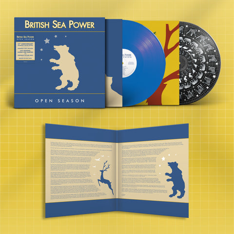 British Sea Power - Open Season (15th Anniversary Edition - 2LP Coloured & Zoetrope Vinyl)