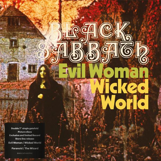 Black Sabbath - Evil Woman / Wicked World & Paranoid / The Wizard