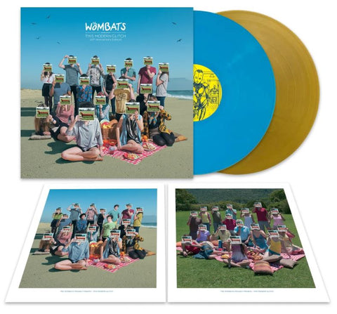 The Wombats - Proudly Presents... This Modern Glitch (10th Anniversary Edition 2LP Sky Blue & Gold Vinyl)