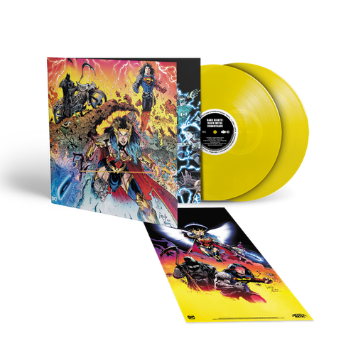 OST: Various Artists: Dark Nights - Death Metal (Indies Exclusive Limited Edition 2LP Yellow Vinyl)