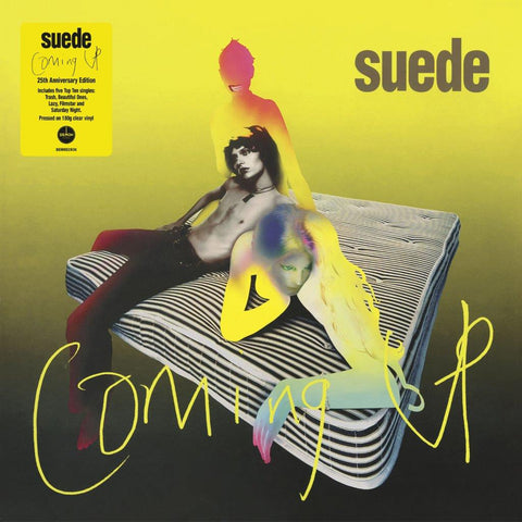 Suede - Coming Up (25th Anniversary Edition Clear Vinyl)