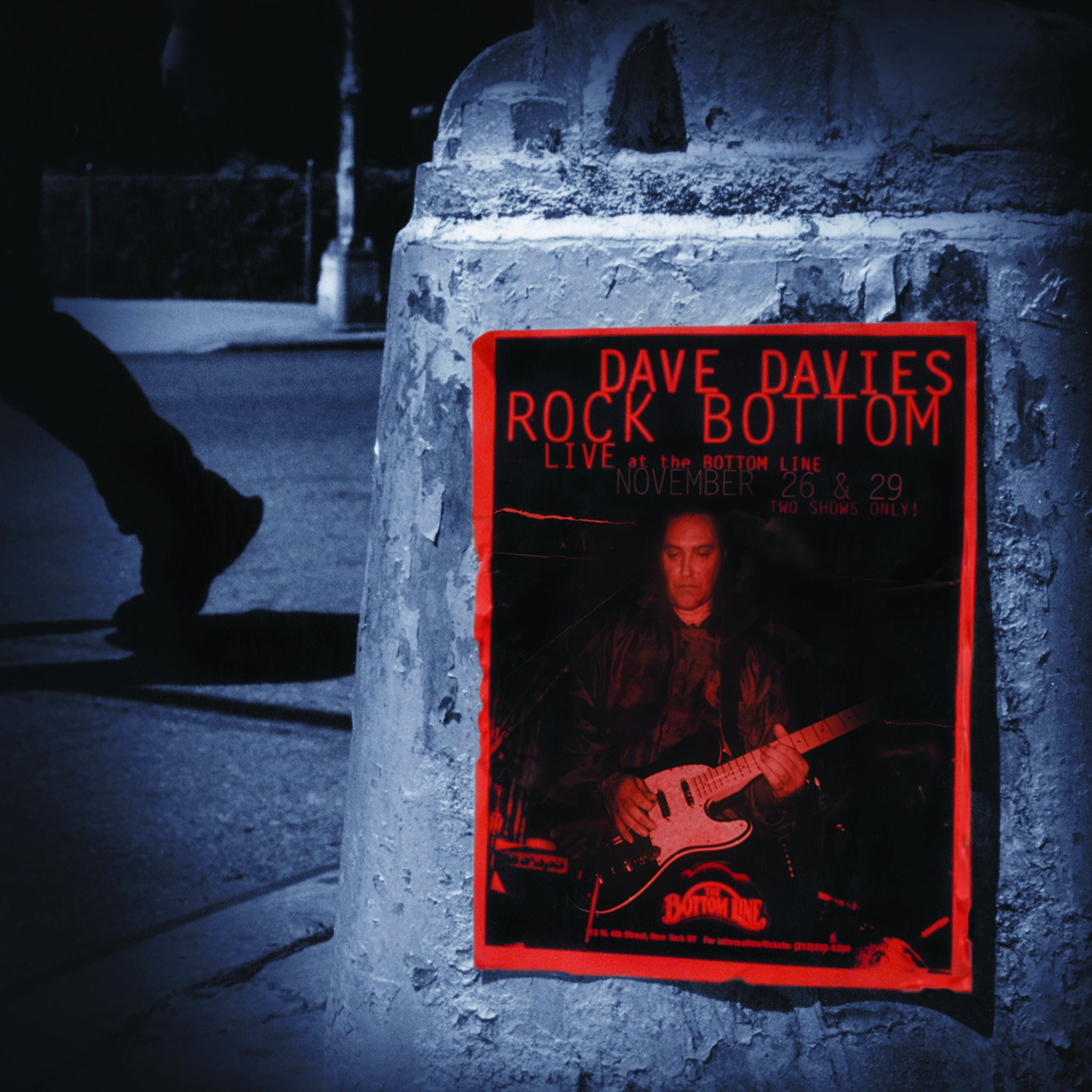 Dave Davies - Rock Bottom: Live at the Bottom Line (Remastered 20th Anniversary Limited Edition, Red & Silver 2LP)