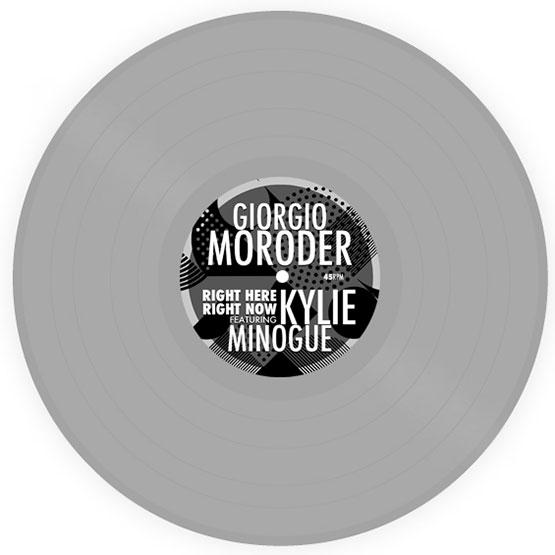 Giorgio Moroder featuring Kylie Minogue - Right Here Right Now **OUR ALLOCATION SOLD OUT ON RSD DROP 1**