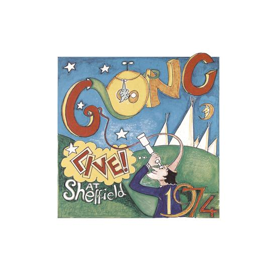 Gong - Live! At Sheffield 1974 (Green Vinyl)