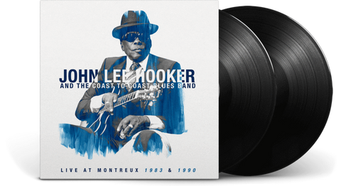 John Lee Hooker And The Coast To Coast Blues Band - Live In Montreux 1983 & 1990 (2LP)